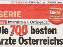 Dr. Georg Huemer ist beliebtester Plastischer Chirurg Oberösterreichs